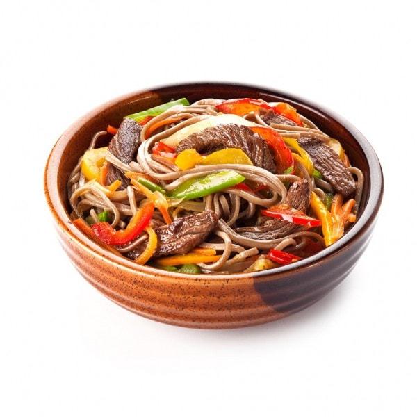 Лагман по азиатски рецепт