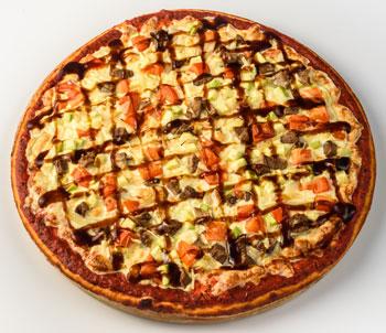 Пицца говядина барбекю